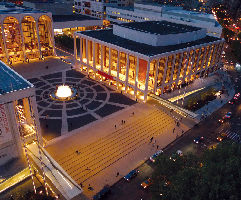 Revson Fountain and Josie Roberston Plaza by Mark Bussell